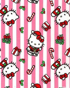 eQuilter Hello Kitty - It's Christmas Kitty - White Sanrio Hello Kitty, Navidad Hello Kitty, Hello Kitty Crochet, Hello Kitty Christmas, Christmas Cats, Merry Christmas, Christmas Cartoons, Christmas Characters, Christmas Time