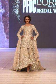 5b05aa4c52 Ammara Khan - Pakistan Bridal Week Women's Ethnic Fashion, Royal Fashion,  Indian Fashion,