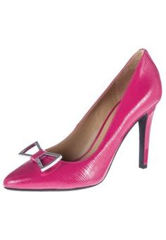 my favorit color! High Heel Pumps - fuxia/ Armani Jeans