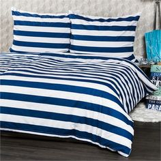 pościel bawełniana Navy, 160 x 200 cm, 70 x 80 cm Comforters, Blanket, Bed, Creature Comforts, Quilts, Stream Bed, Blankets, Beds, Cover