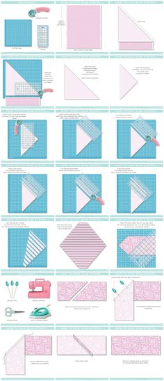 How to cut & sew bias strips tutorial #sewing