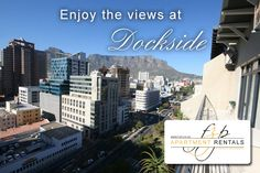 Dockside 1401 - Elegantly spacious luxury penthouse apartment high above the city with views towards Table Mountain. Fully furnished and equipped to the highest standards. Air-conditioned. Free Wi-Fi internet. Located in a secure complex within walking distance to Cape Quarter, V&A Waterfront and the CBD. #capetown #fzp #holidayrentals