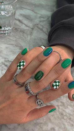 Nail Design Stiletto, Nail Design Glitter, Nail Ring, Nail Manicure, Classy Nails, Stylish Nails, Mens Nails, Acryl Nails, Nail Jewelry