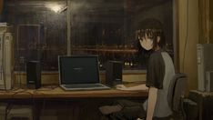 This HD wallpaper is about black haired female anime character, animated character sitting on chair, Original wallpaper dimensions is file size is Wallpapers Hd Anime, Background Images Wallpapers, Wallpaper Backgrounds, Laptop Backgrounds, Wallpaper Desktop, Computer Wallpaper, Art Manga, Manga Anime Girl, Sad Anime