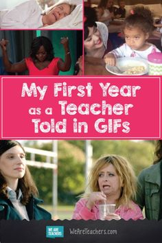 My First Year as a Teacher Told in GIFs: OMG this is SO true! Everything that happened to me as a First Year Teacher is in here! -- WeAreTeachers.com
