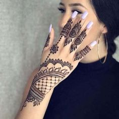 Stylish mehndi design for hands 2018 collection