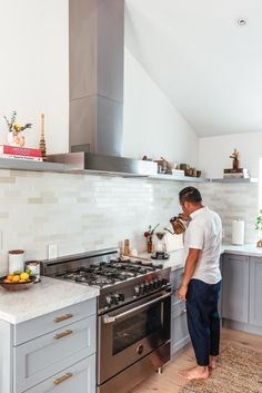"""""""Semihandmade makes your IKEA kitchen look custom and twice as expensive for basically the same cost,"""" recommends Danielle. Ikea Kitchen, Kitchen Decor, Kitchen Cabinets, Kitchen Ideas, Kitchen Photos, Kitchen Designs, Berkeley Homes, Bath Or Shower, Cooker Hoods"""