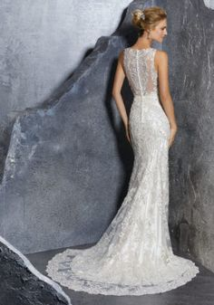 Mori Lee Bridal Gown Style Number 8217 Vintage Inspired Crystal Beaded With Embroidered Morilee By Madeline Gardner