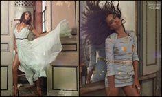 """A linda Irina Shayk foi clicada por Pavel Havilicek para o editorial """"Por dentro"""", da Harper's Bazzar México, Junho 2012. - blog da bibis"""