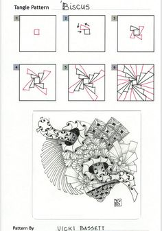 How to draw BISCUS « TanglePatterns.com