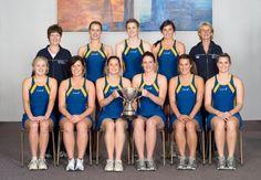 Lincoln University's Premier netball team by Lincoln University NZ, via Flickr
