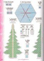 Table top Christmas tree pg 3 of 3 Plastic Canvas Ornaments, Plastic Canvas Christmas, Plastic Art, Plastic Canvas Crafts, Plastic Canvas Patterns, Craft Patterns, Doll Patterns, Crochet Patterns, Sewing Art