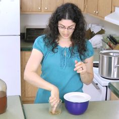 It's that time of year! Fruit flies go crazy for fermenting foods, and fermenting concoctions are a hallmark of a traditional kitchen. What to do about them? Try my homemade fruit fly trap. It really works -- and better yet, it is simple. Watch me put one together in this short, free video. Thi