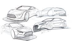 SIMON DREW Automotive Designer: Sports Car sketches