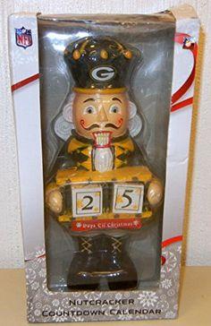 NFL Nutcracker Countdown Calendar Green Bay Packers Team Beans http://www.amazon.com/dp/B00RH0YGG0/ref=cm_sw_r_pi_dp_vnC2vb0WSED7R