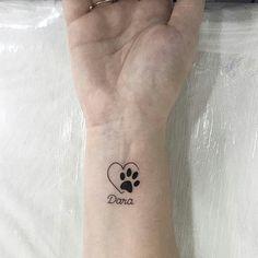 New Tattoo Ideas Dog Paw Tat Ideas Neue Tattoo Ideen Hund Paw Tat Ideen The post Neue Tattoo Ideen Hund Paw Tat Ideen & Tattoo& appeared first on Tattoos . Subtle Tattoos, Trendy Tattoos, Tattoos For Women, Mini Tattoos, Small Tattoos, Wrist Tattoos, Dog Paw Tattoos, Cat Paw Print Tattoo, Tatoos