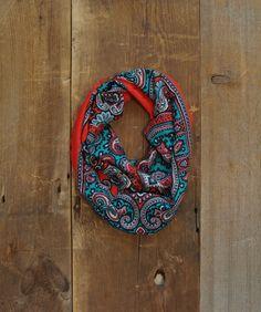 SALE / Vintage Paisley Scarf / Cotton Scarf / by littleedenvintage, $19.00