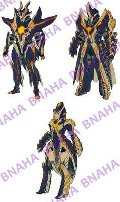 Miralis Armor by Bnaha on DeviantArt
