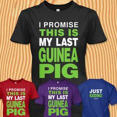 I promise, this is my last guinea pig - just kidding! Just Released - Not…