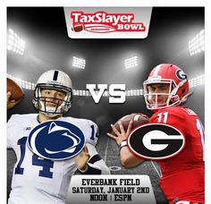 Welcome Penn State Nittany Lions and University of Georgia Bulldogs to the TaxSlayer Bowl!