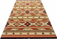 Vintage Turkish Kilim Hand Made Flat Weave Wool Rug Veg Dye Organic Nice