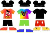 Paper Doll Disney Clothes