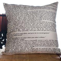 Pride & Prejudice Pillow Cover | Storiarts