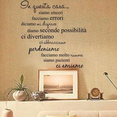 Art Vinyl Quote Wall Sticker Decal Mural Home House Rules Family DIY Removable for sale online