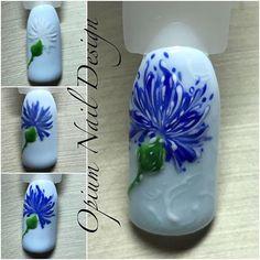 #nailarttutorial #flowernailart