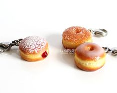 Donut Charm,Charms For Bracelet,Charm Bracelet Charms,Doughnut Jewelry,Best Friend Charm,Charms With Lobster Clasps,Best Friend Gift