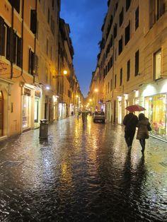 Rome in the Rain - World Travel
