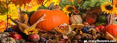 Autumn Harvest Facebook Cover - Facebook Timeline Cover Photo - Fb Cover