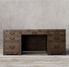 Heirloom Silver-Chest Desk