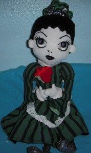 Plush ghost hostess