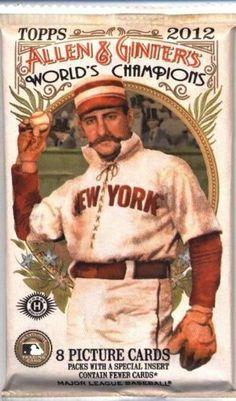 1 (One) Pack of 2012 Topps Allen & Ginter Baseball Cards: Hobby Pack (8 Cards/Pack) by Topps. $3.59. 1 (One) Pack of 2012 Topps Allen & Ginter Baseball Cards: Hobby Pack (8 Cards/Pack)