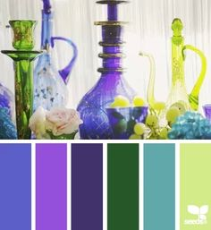 Design seeds. Love.this purple, the second one for the window walls in the living room, gray border