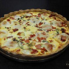 Tarte poivron – tomate – mozzarella