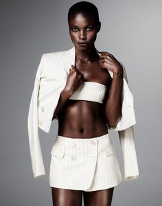 jeneil williams photos3 Jeneil Williams Models Sexy & Boyish Style for FLARE by Jason Kim