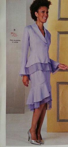 652b823ee95 Ashro spirit skirt suit jacket size 12 skirt size 8. Brand new lilac for  church