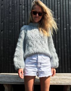 //Faucher pullover by Ganni Love Fashion, Girl Fashion, Fashion Outfits, Winter Fashion, Womens Fashion, Fashion Trends, Dressed To The Nines, Mohair Sweater, Mode Inspiration