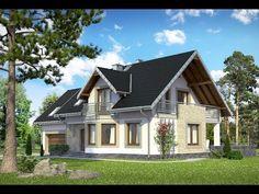 Projekt domu Baltazar beton komórkowy - Archeton.pl