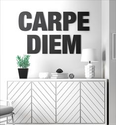 Carpe Diem Sign - SKU: CARP
