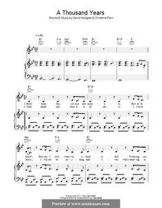 "Christina Perri ""A Thousand Years"" (piano + voice)"