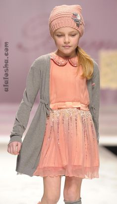 ALALOSHA: VOGUE ENFANTS: MISS BLUMARINE FW'14 CATWALK