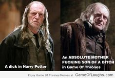 Be It Harry Potter Or Game Of Thrones He Is The Same - Game Of Thrones Memes