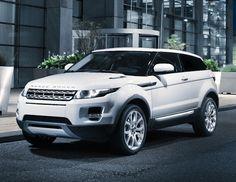 Range Rover Evoque (Baby Range Rover!) Victoria Beckham helped design the interior, so smart!