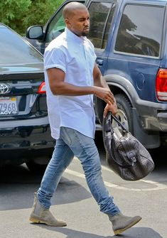Chelsea Boot Masculina Kanye West 2