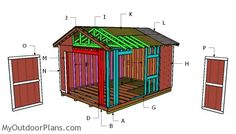 Building a 12x16 garden shed
