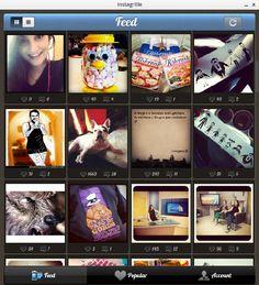 Instagrille leva o Instagram para o Windows