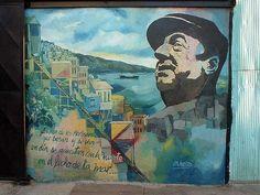 mural neruda - Valparaíso